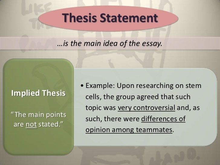 Movie review thesis statement example | Best custom paper writing ...