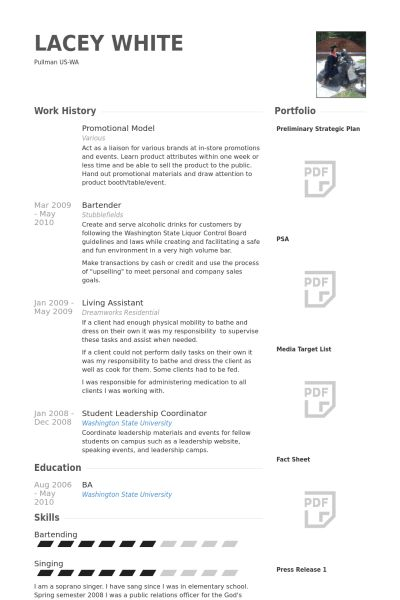 Model Resume samples - VisualCV resume samples database