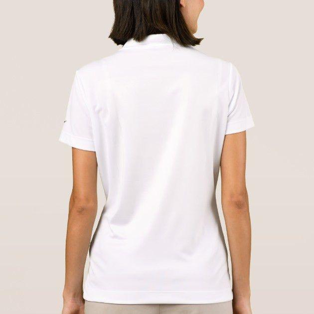 Women's Custom Nike Polo Shirt Blank Template   Zazzle.com
