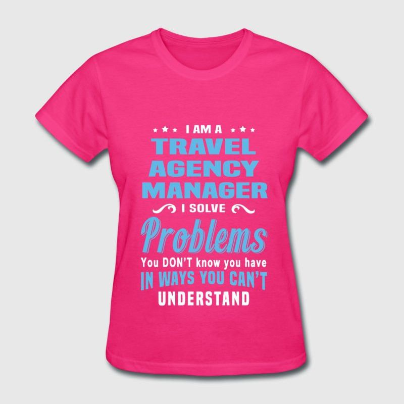 Travel Agency Manager T-Shirt | Spreadshirt