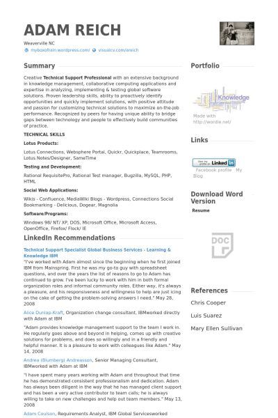 Technical Director Resume samples - VisualCV resume samples database