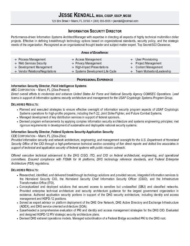 security manager resume unforgettable security supervisor resume