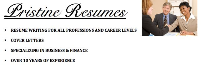 Pristine Resumes - Resume Writing Services by Certified ...