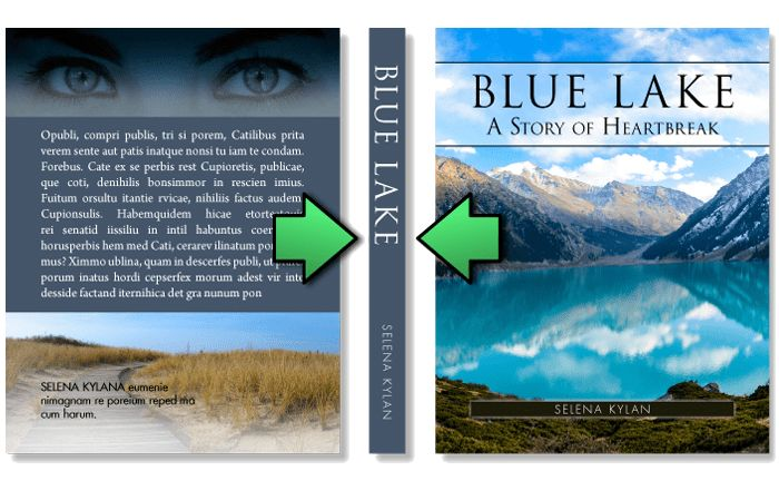 Book Cover Template | Free MS Word Cover Templates