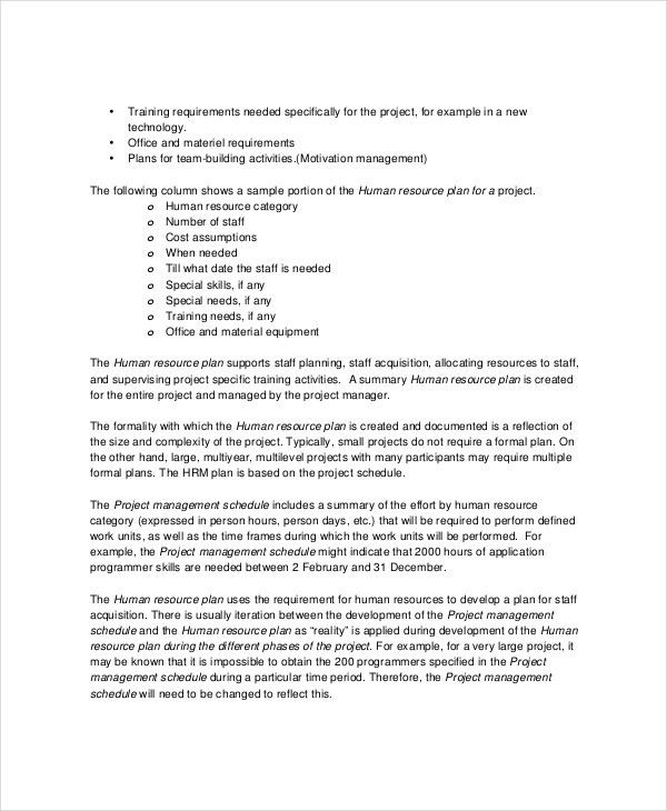 HR Report Templates - 8+ Free Word, PDF Format Download!   Free ...