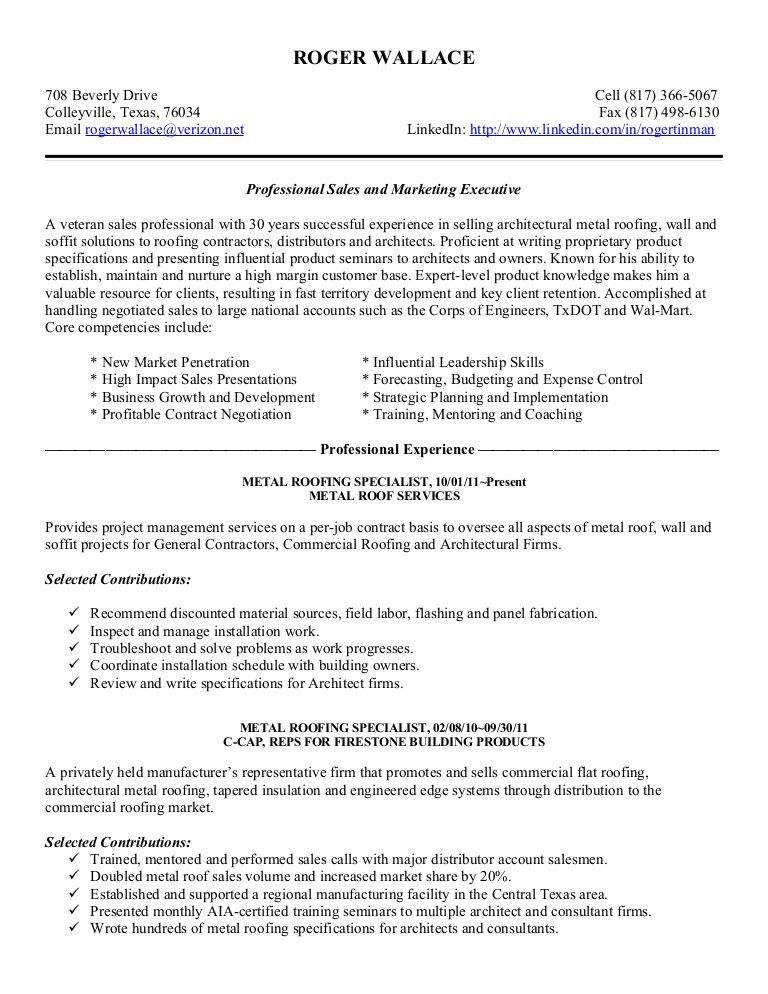 Roger Wallace Resume Jan2012