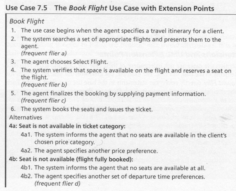 Use Case Extension Points