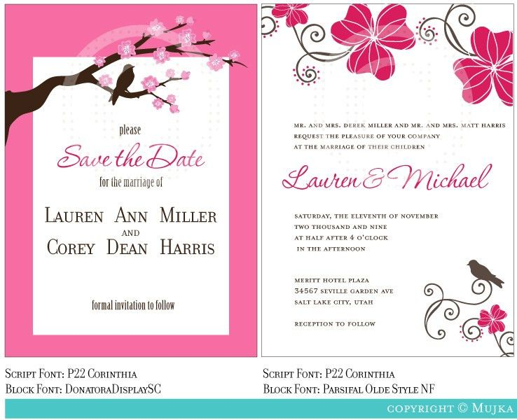 Wedding Invitation Templates Online | wblqual.com