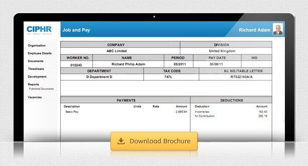 Online & Electronic Payslips Software | CIPHR