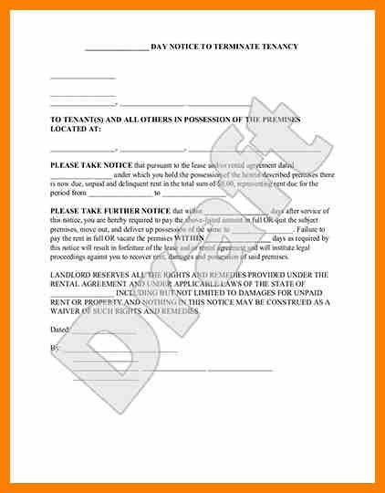 3+ how to write eviction notice | target cashier