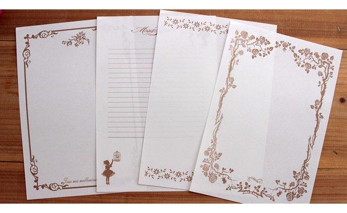 Wholesale Classic Writing Paper 8pcs/bag Mixed Design Letter Paper ...