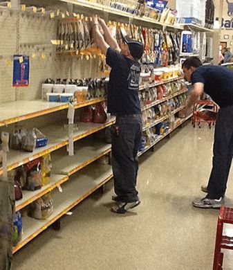 Store Reset | Merchandising Services