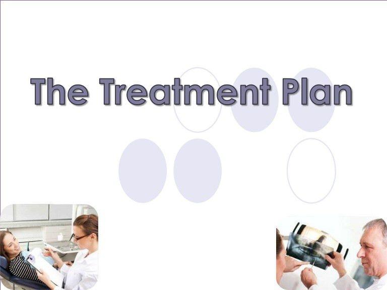 Perio - The treatment plan