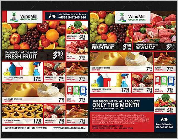 Grocery Flyers - 9+ Free PSD, Vector AI, EPS Format Download ...