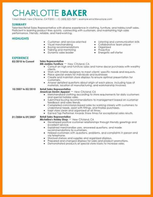 8+ retail sales resume examples | forklift resume