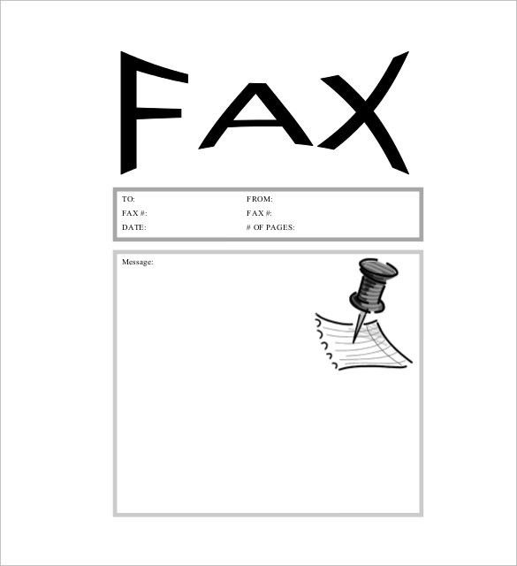 Sample Funny Fax Cover Sheet. Funny Fax Cover Sheet 1 Funny Fax ...