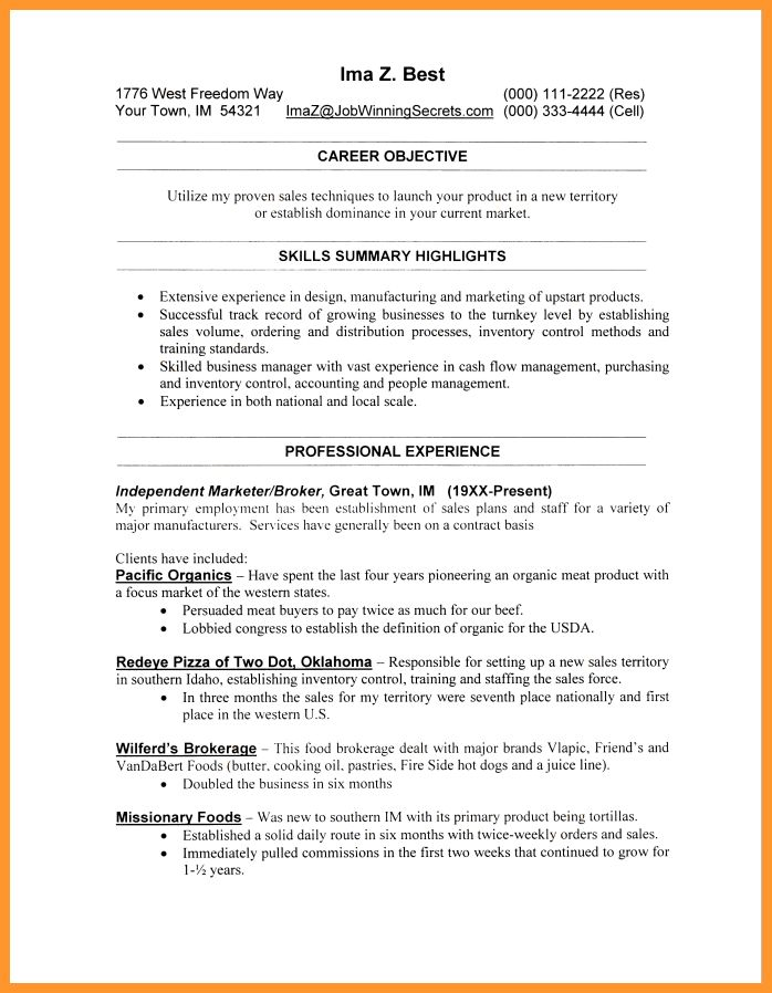 Unbelievable Resume Layout Examples 16 Examples Of Resumes Acting ...