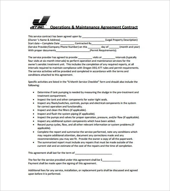 Simple Contract Template - 9+ Download Free Documents in Word, PDF