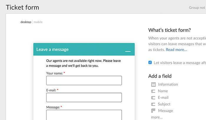 All about Support Tickets in LiveChat   LiveChat Knowledge Base