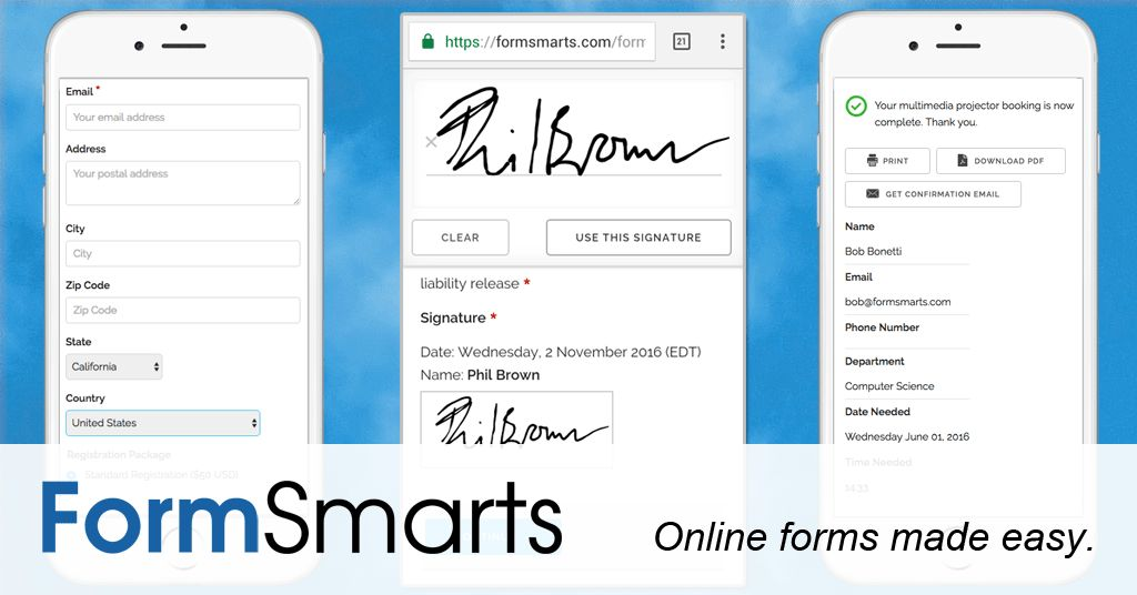 Registration Form with PayPal