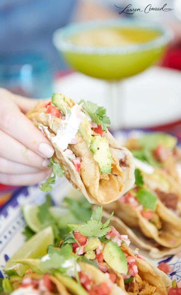Recipe Box: Green Chili Chicken Tacos & Homemade Queso Dip
