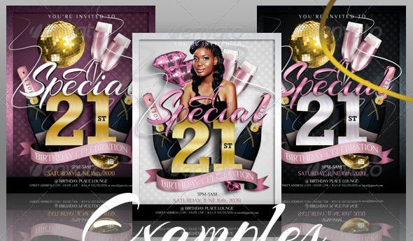 19 Great Birthday Invitation Cards PSDs – Design Freebies