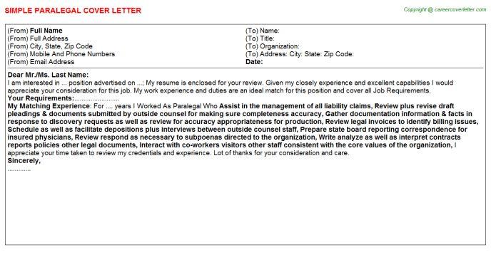 Paralegal Job Title Docs