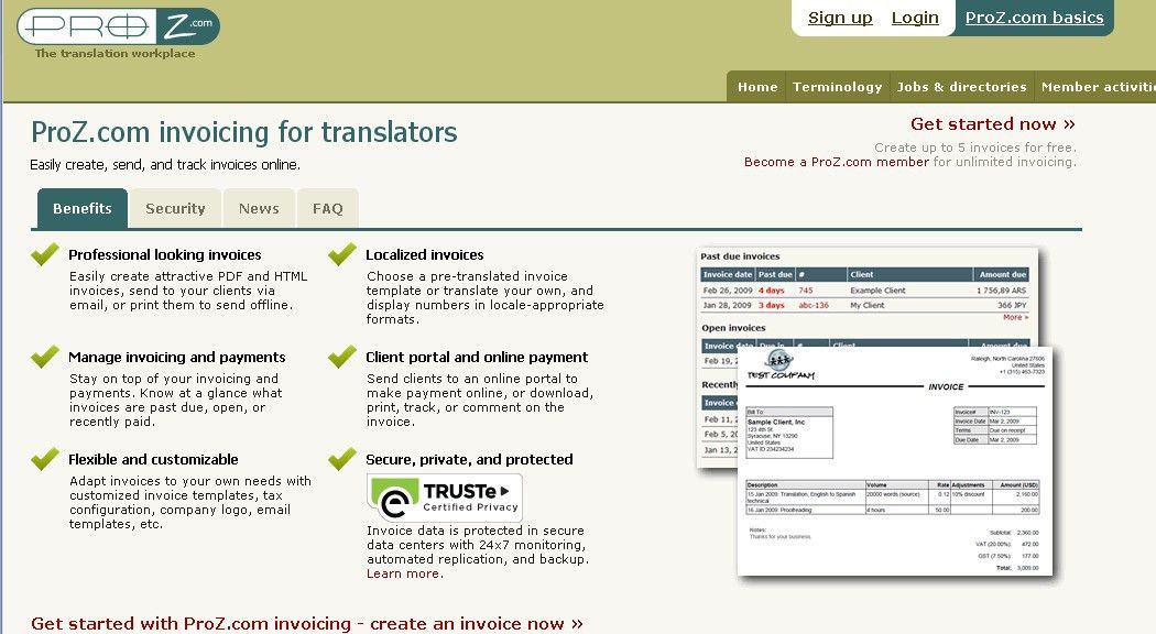 Your translation invoice: 9-point blueprint & free templates
