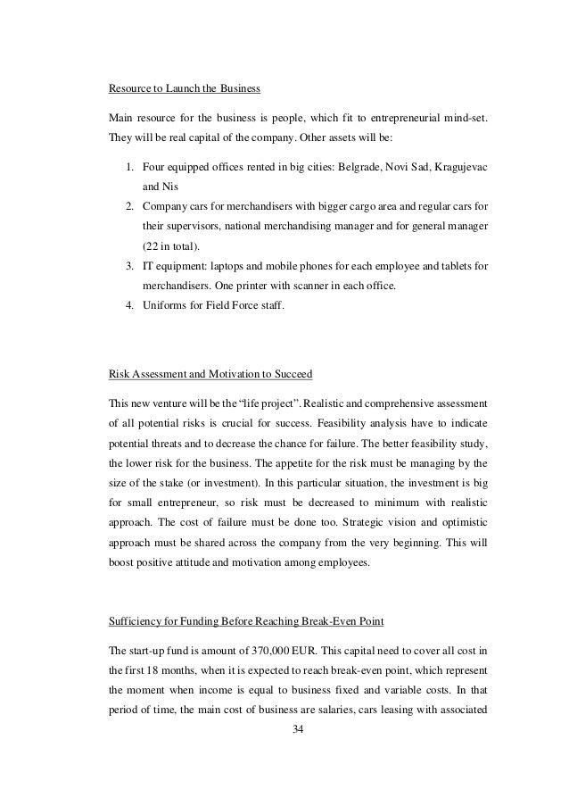 Business Development Proposal Project for a Retail Merchandising Serv…