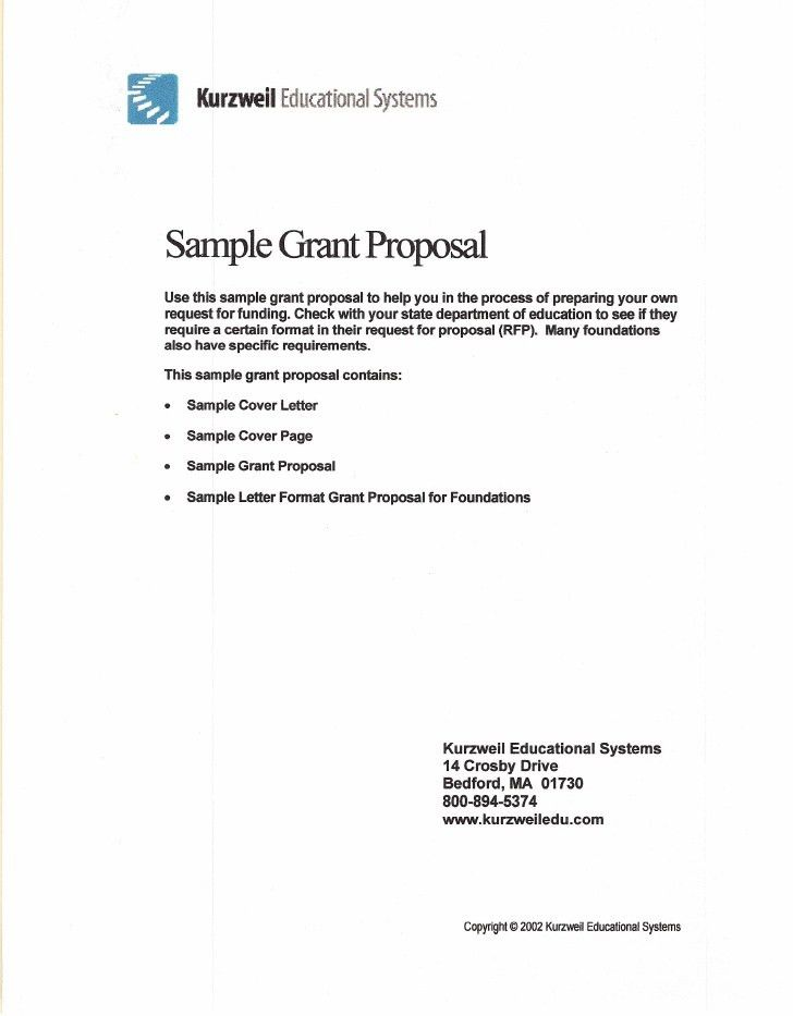 Fundraising Proposal Template Sample. Business Proposal Letter ...
