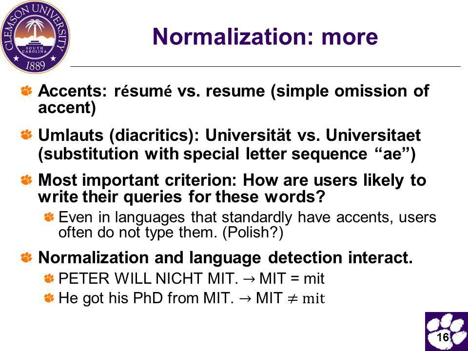 CpSc 881: Information Retrieval   Ppt Download  Resume With Accents