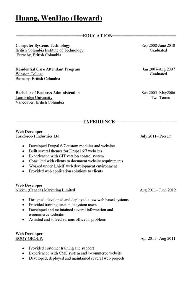 Download Parts Of A Resume | haadyaooverbayresort.com