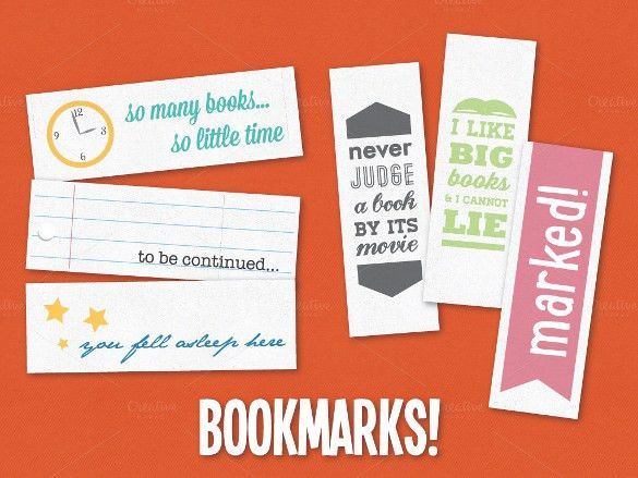 21+ Bookmark Design Templates – Free Sample, Example, Format ...