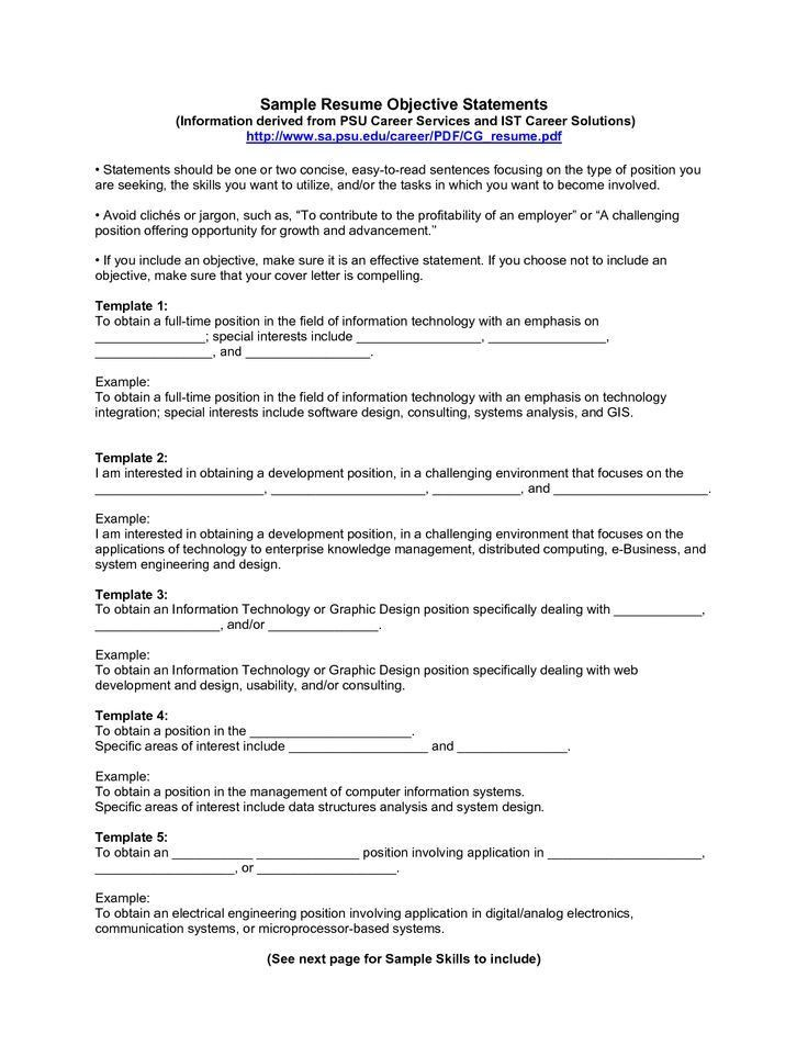 download resume how to write objective haadyaooverbayresortcom