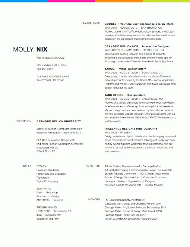 graphic designer resume sample resume format for graphic web ...
