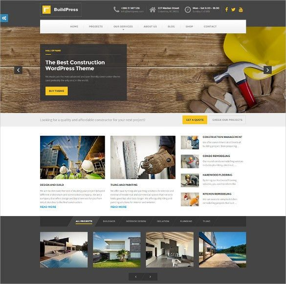 41+ Construction Website Themes & Templates | Free & Premium Templates