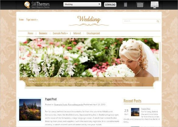 Best Free Wedding Website Templates - Matrimonial Website Templates