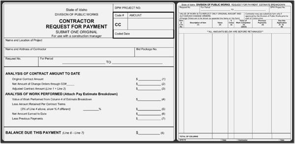 Payment Request Form Template {Word-PDF} Format