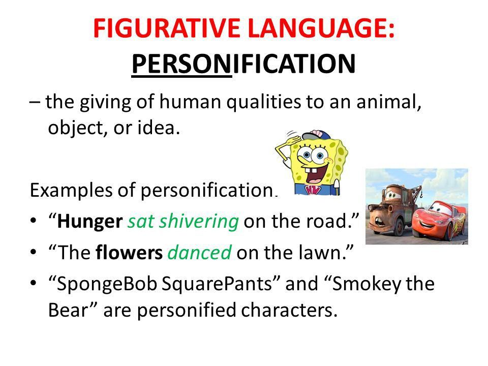 FIGURATIVE LANGUAGE. - ppt video online download