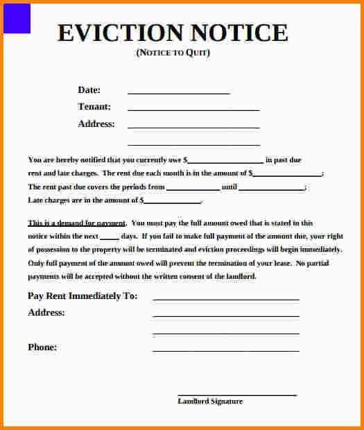7+ eviction notice form | nypd resume