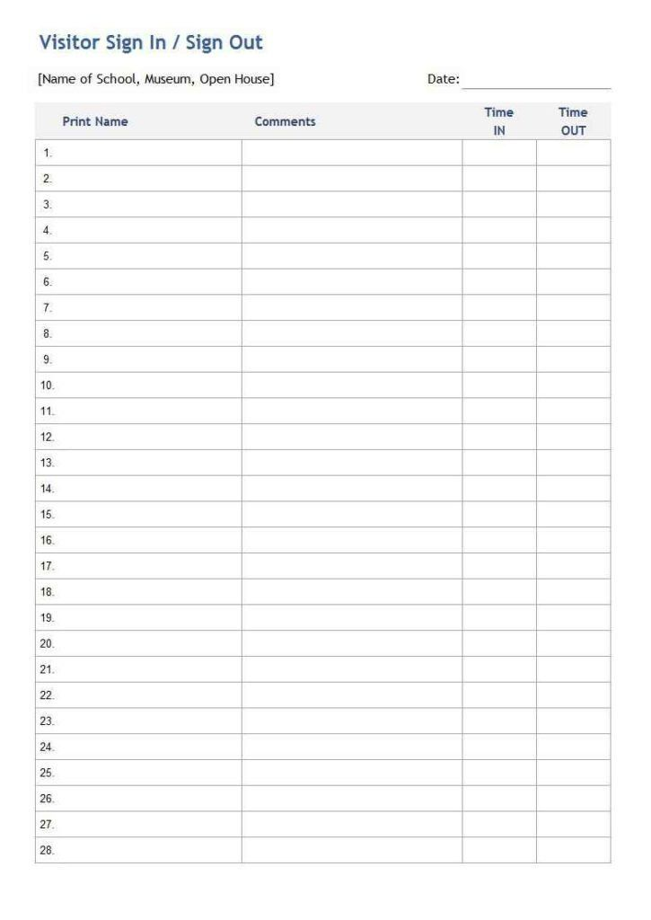 Potluck Sign Up Sheet Template | HAISUME