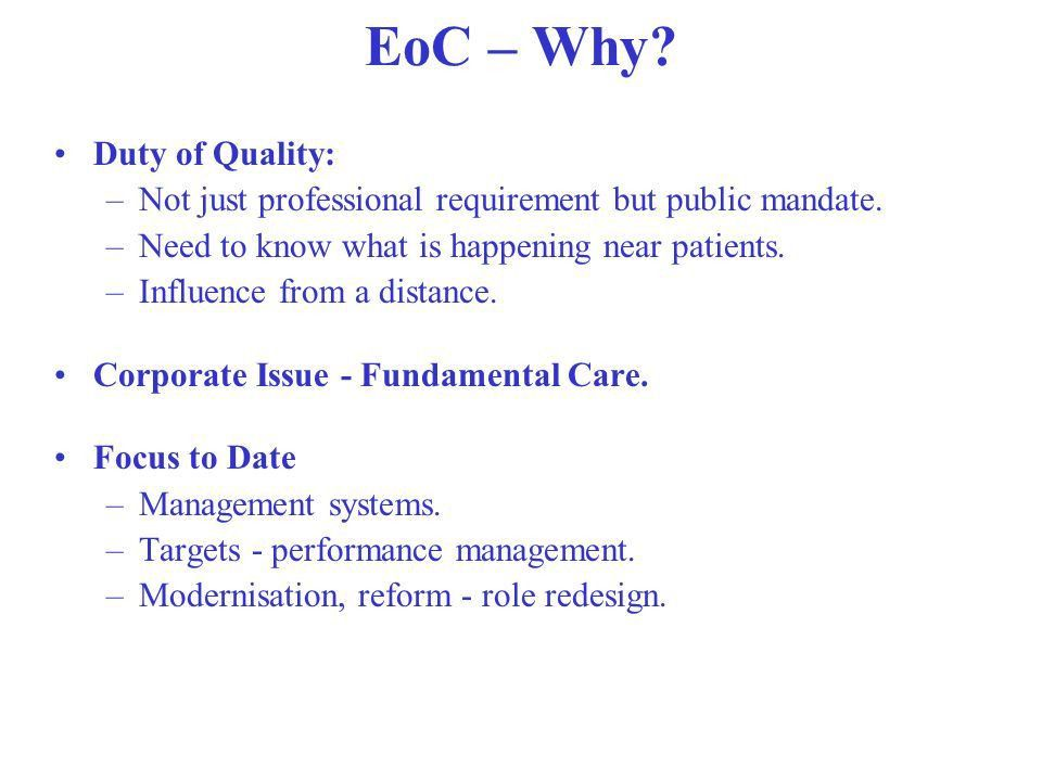 Essence of Care – From Director of Nursing Perspective Margaret ...
