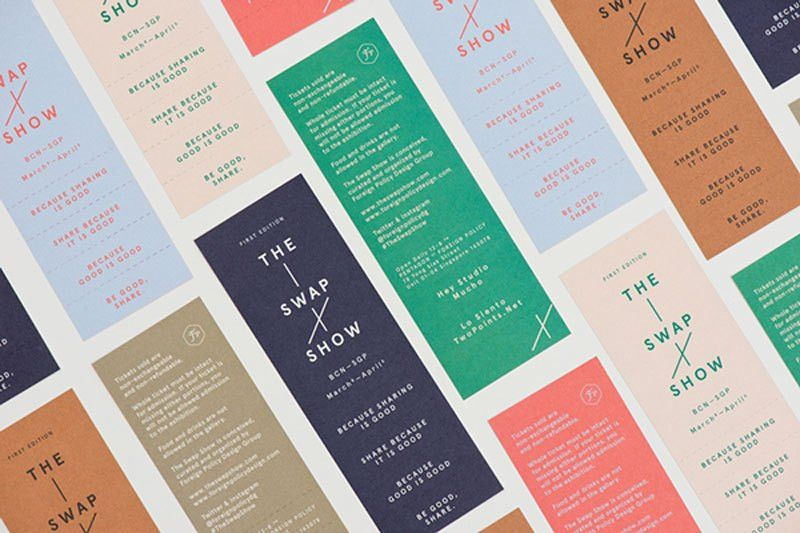 A collection of well-designed event tickets - Designer Daily ...