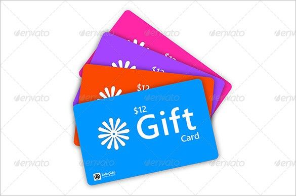 Gift Card Template - 15+ Free Sample Example Format Download ...