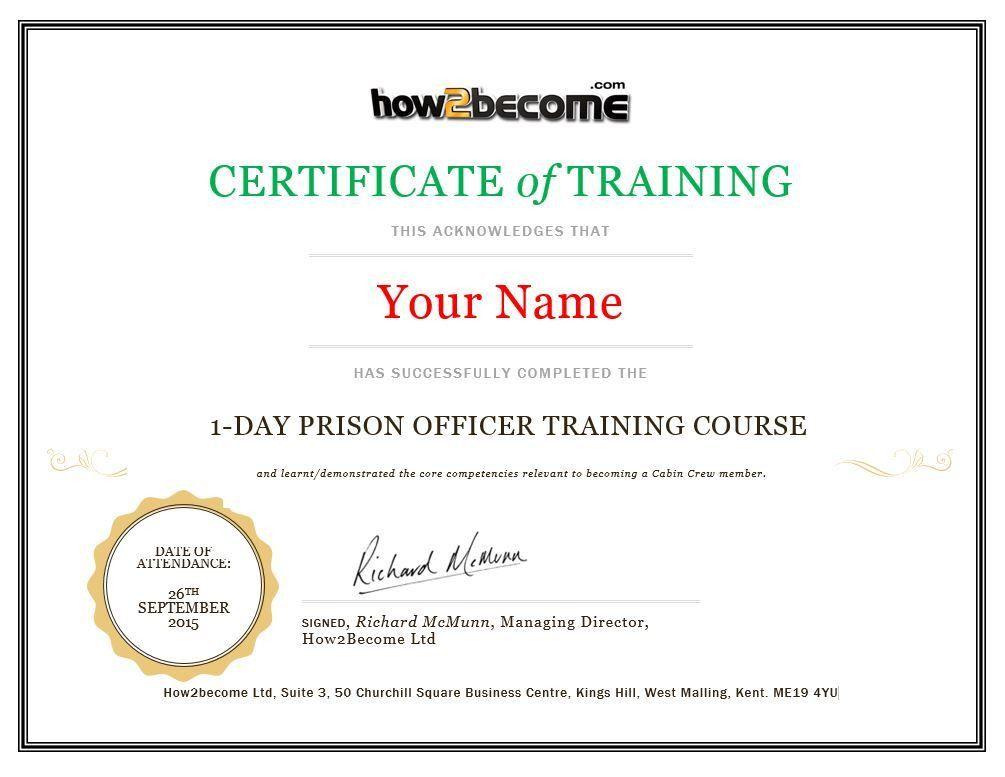Prison Officer Intensive Online Recruitment Course [HMPS / SPS]