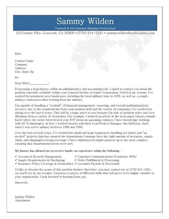 Administrative Cover Letter Example | Cover letter example, Letter ...