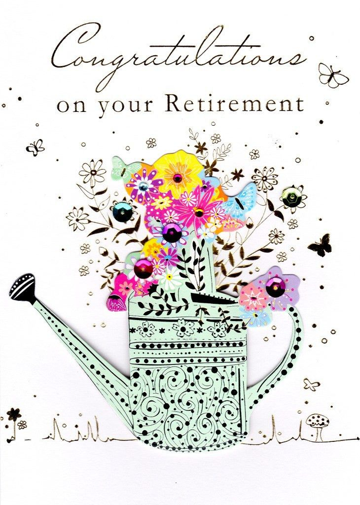 Congratulations On Your Retirement Greeting Card   Cards   Love Kates