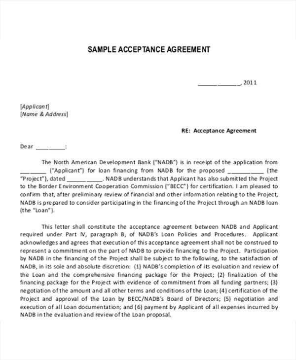 loan letter agreement 5 loan agreement templates to write perfect