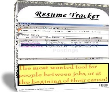 resume tracker | Resume Sample