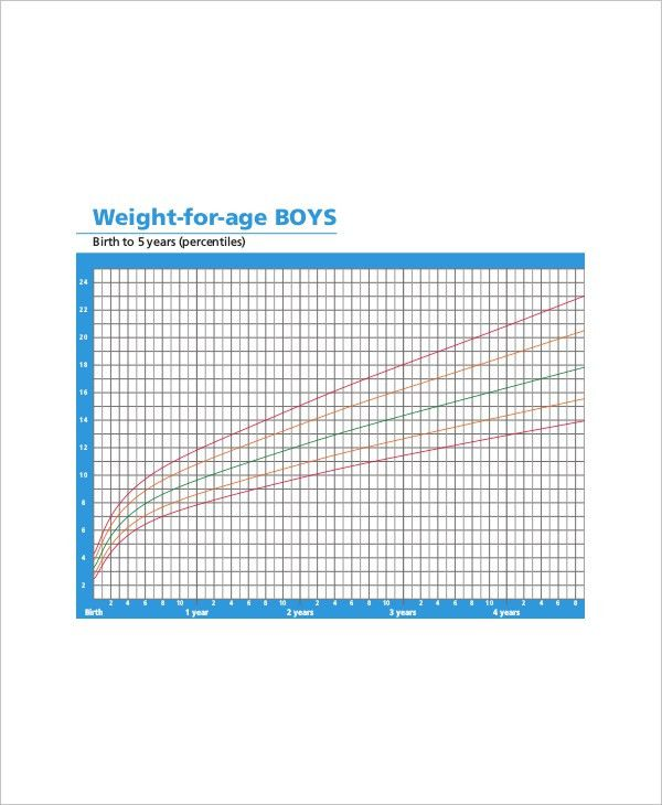 5+ Baby Height Weight Chart Templates for Baby - Free Sample ...
